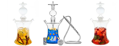 GLASS HOOKAH TEMPLE - $49.99
